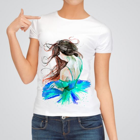 Ballerina fashion t-shirt