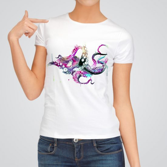 Beautiful octopus t-shirt